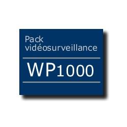 Pack vidéosurveillance WP1000 ADSL