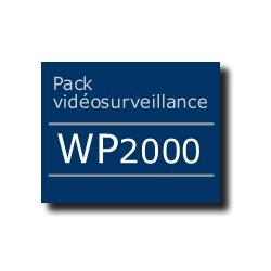 Pack vidéosurveillance WP2000 ADSL